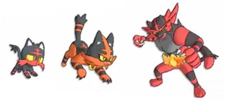 Those initial starter evolution leaks were real, apparently