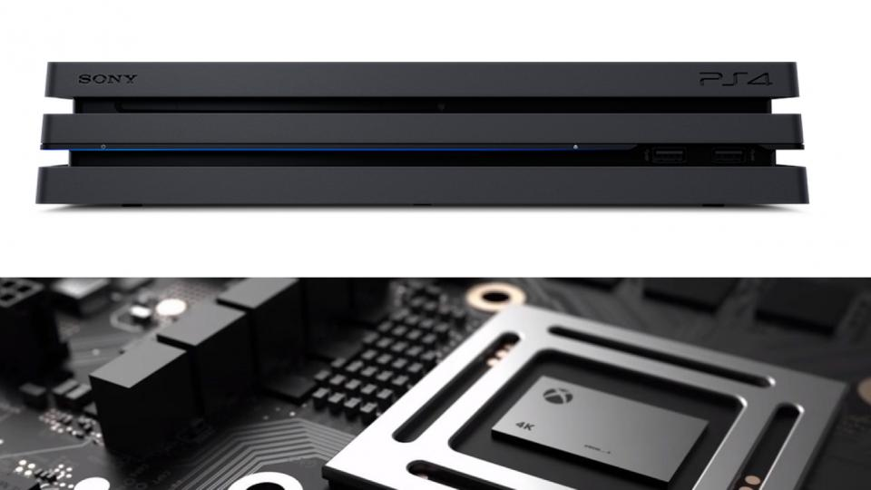 ps4  pro vs xbox scorpio playstation