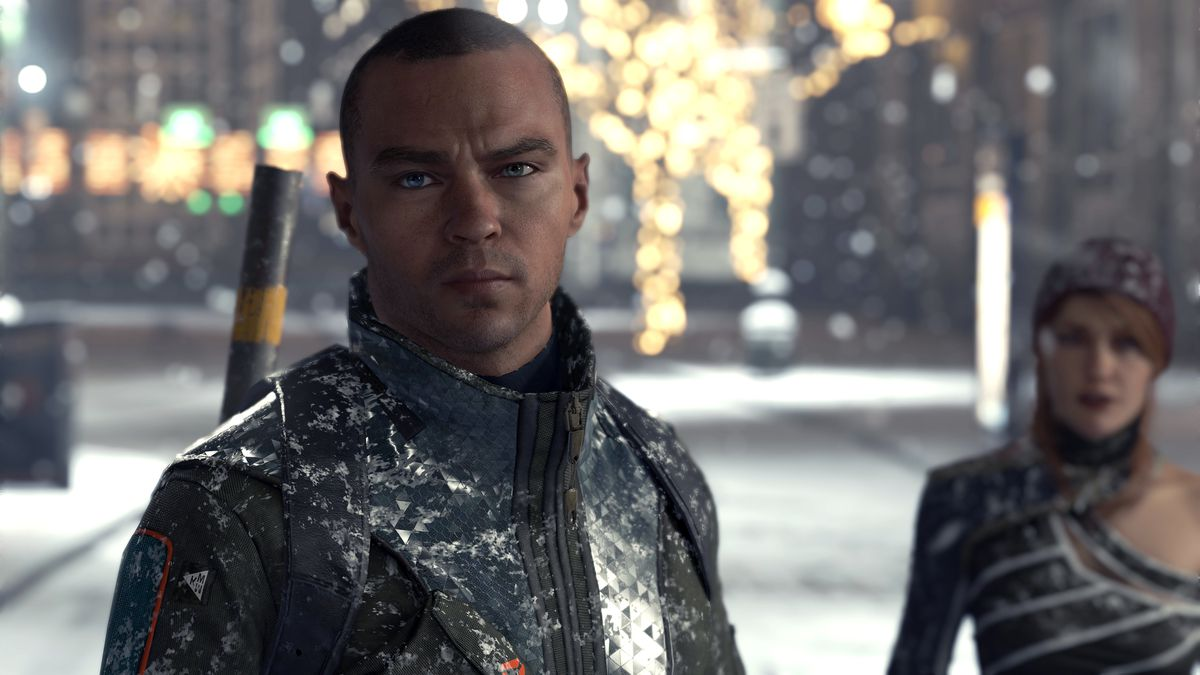 Markus and North in Detroit: Become Human