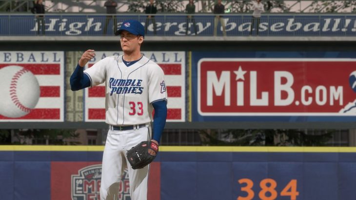 MLB The Show 18 Road to the Show - Matt Harvey on Binghamton Rumble Ponies